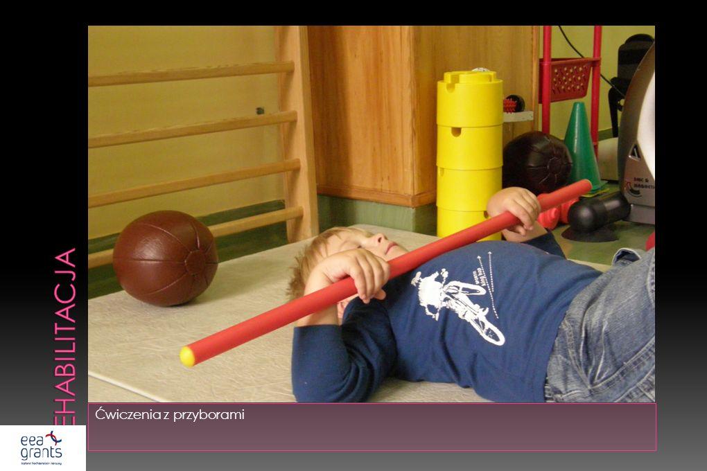 rehabilitacja Ćwiczenia z przyborami