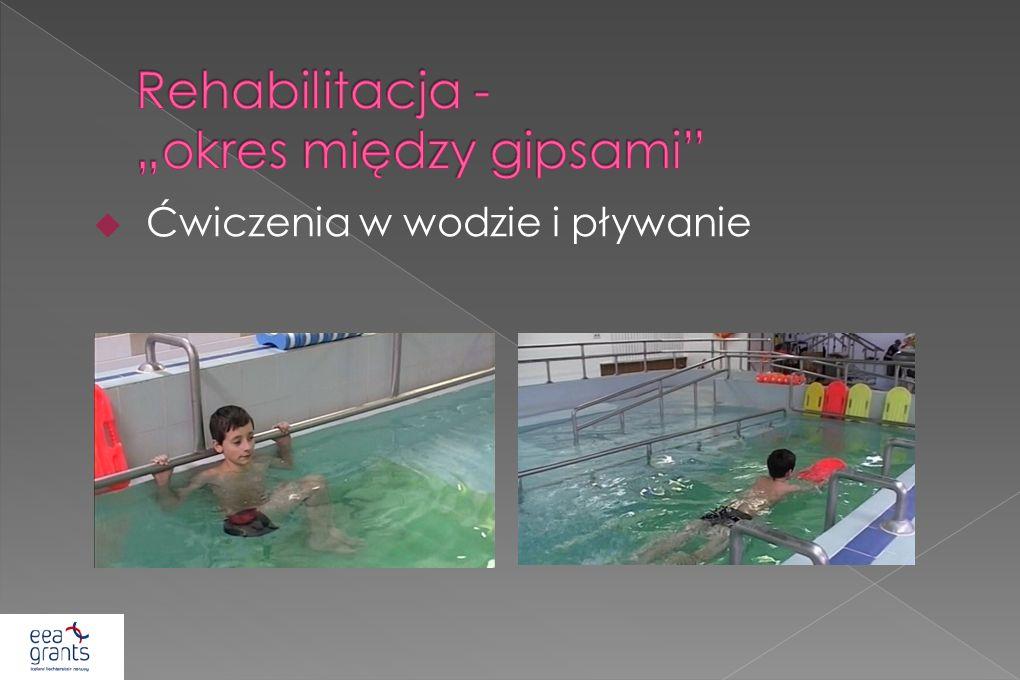 """Rehabilitacja - """"okres między gipsami"""
