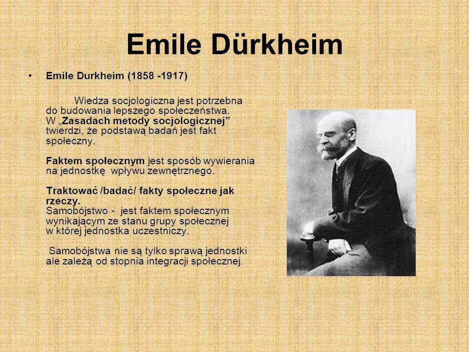 Emile Dürkheim