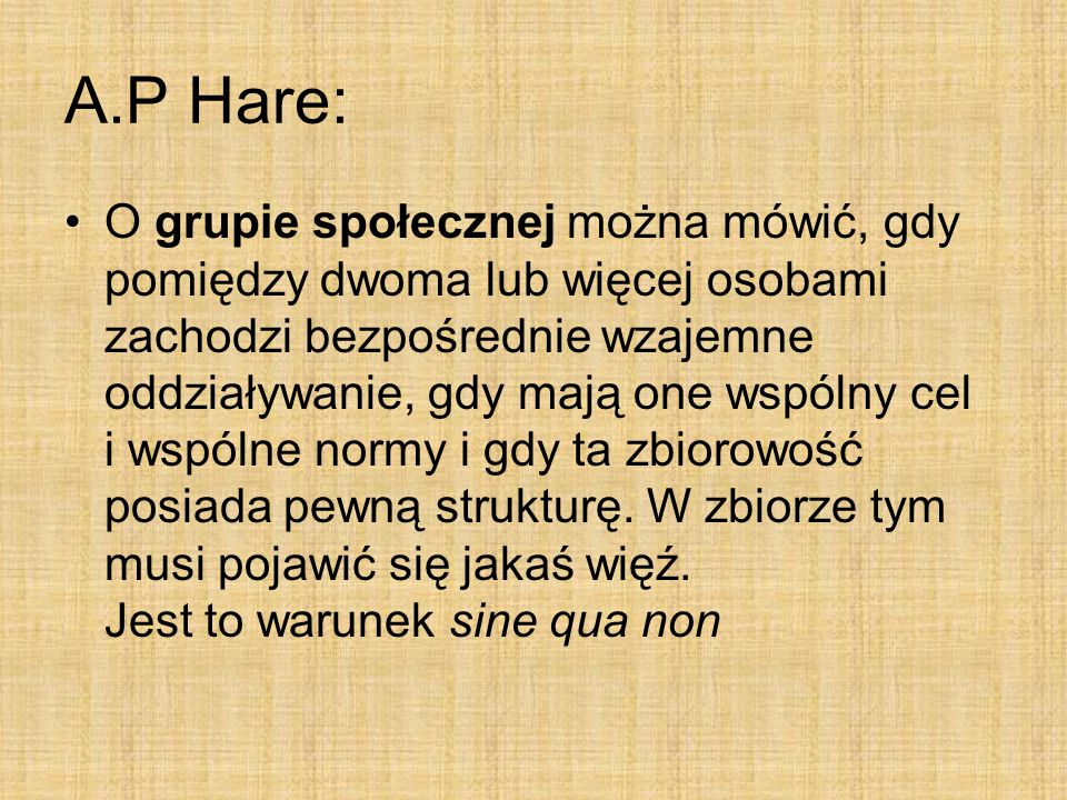 A.P Hare: