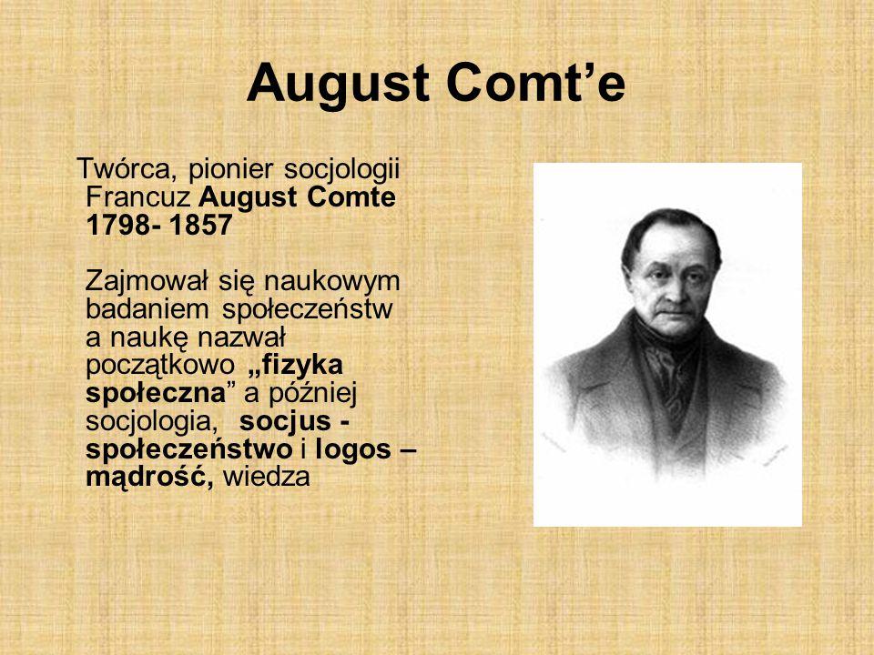 August Comt'e