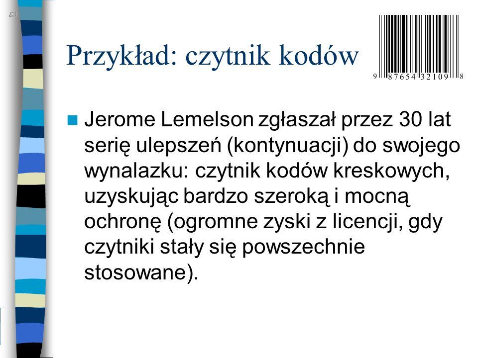Przykład: czytnik kodów