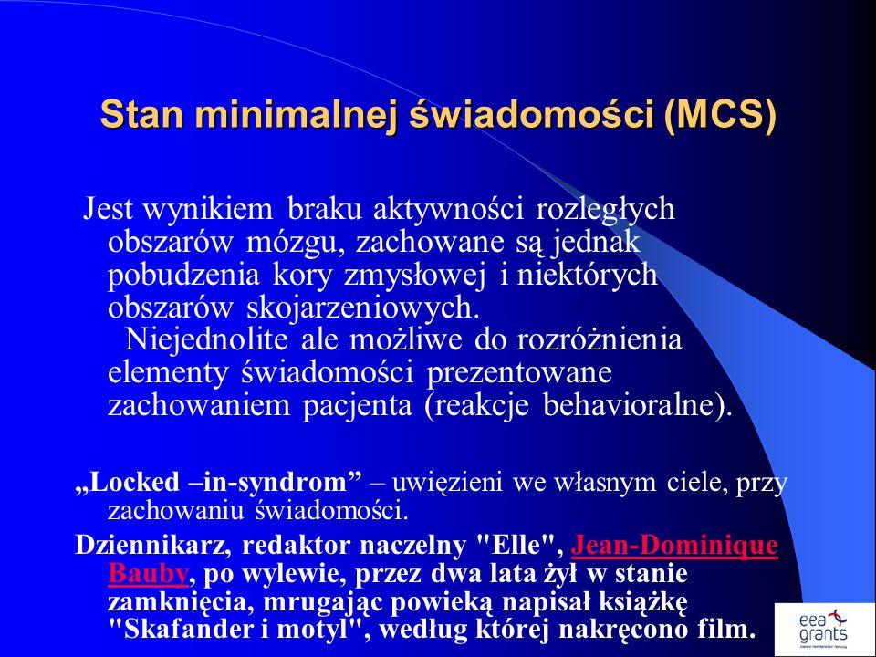 Stan minimalnej świadomości (MCS)