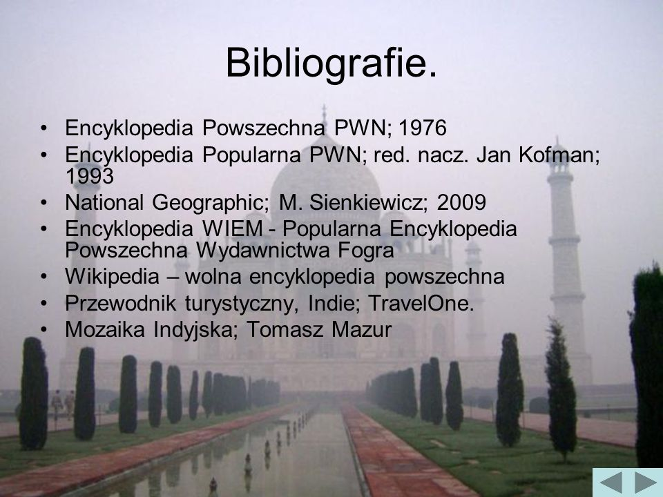 Bibliografie. Encyklopedia Powszechna PWN; 1976