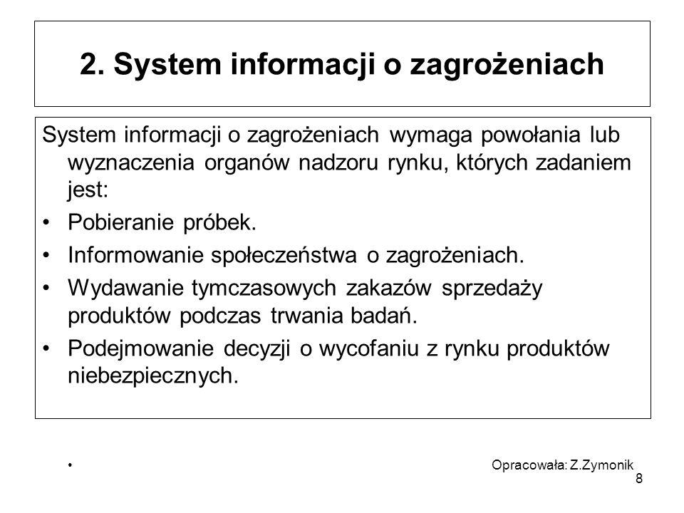 2. System informacji o zagrożeniach
