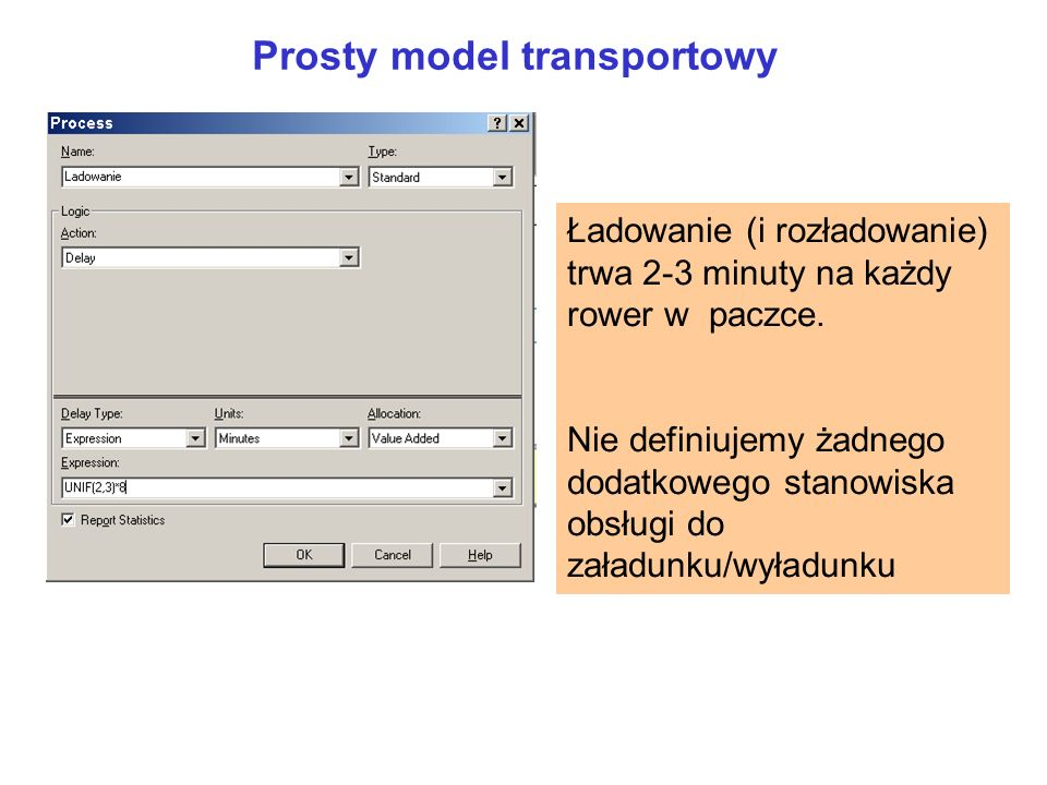 Prosty model transportowy