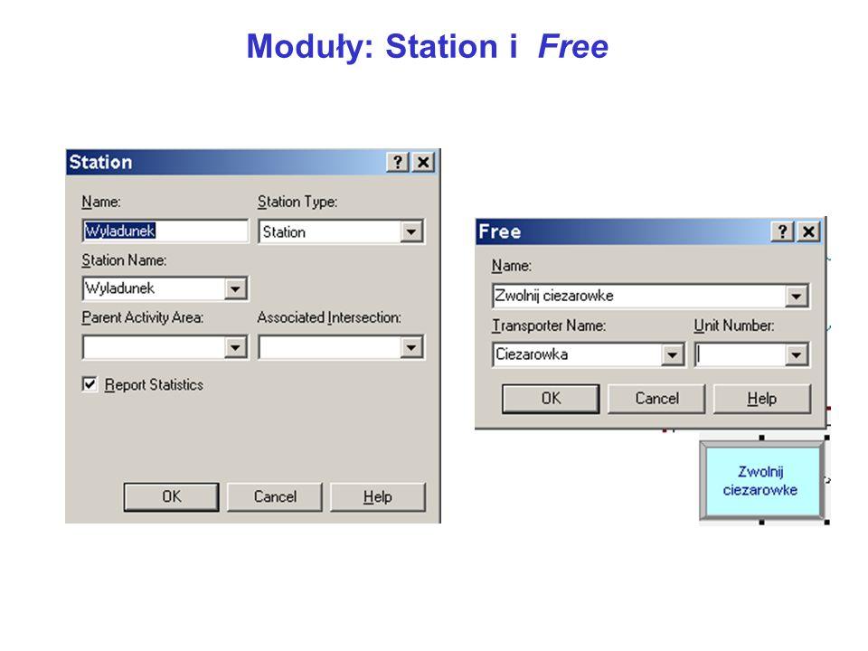 Moduły: Station i Free