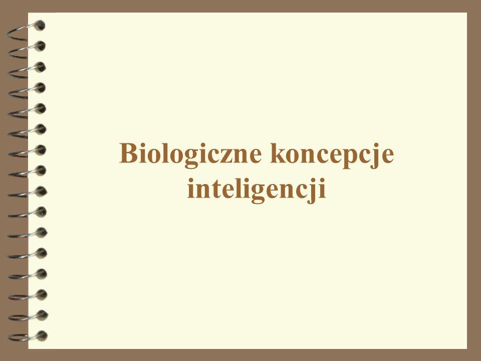 Biologiczne koncepcje inteligencji