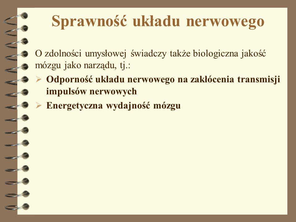 Sprawność układu nerwowego
