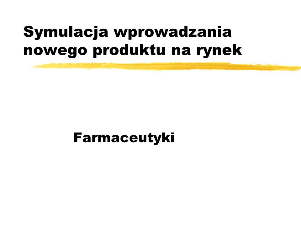 Symulacja wprowadzania nowego produktu na rynek