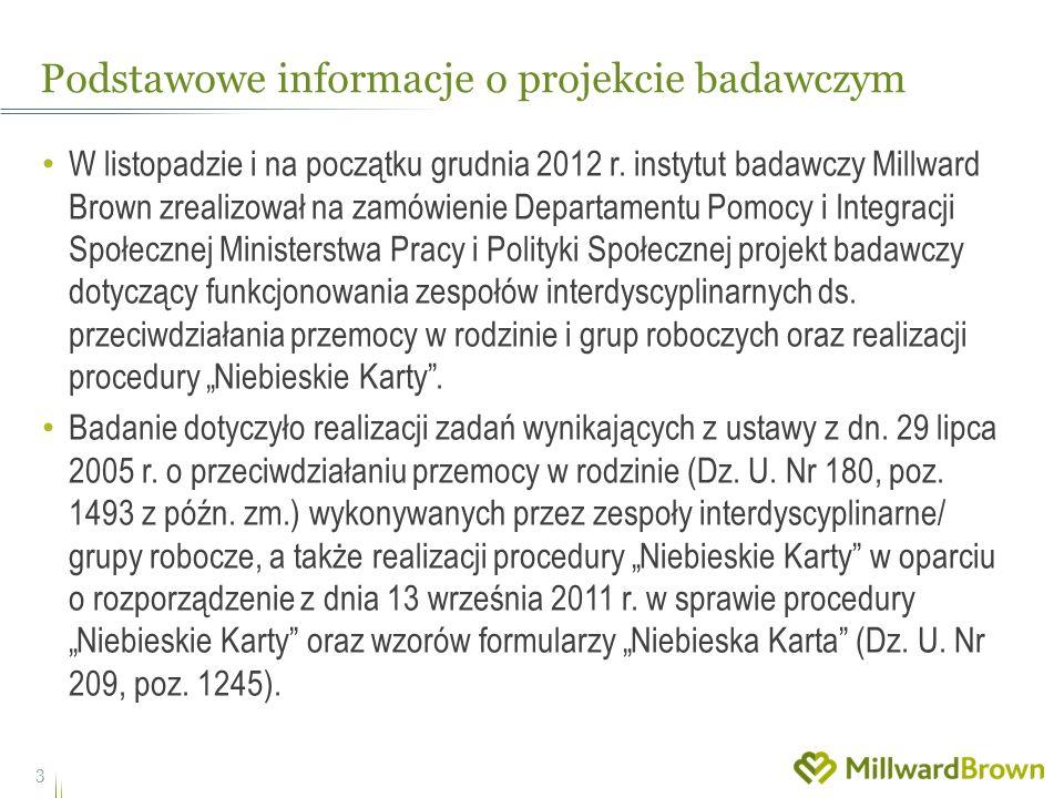 Podstawowe informacje o projekcie badawczym