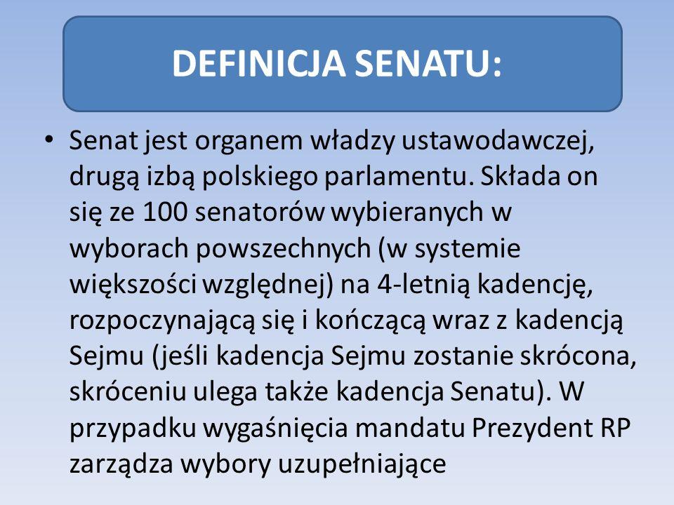 DEFINICJA SENATU: