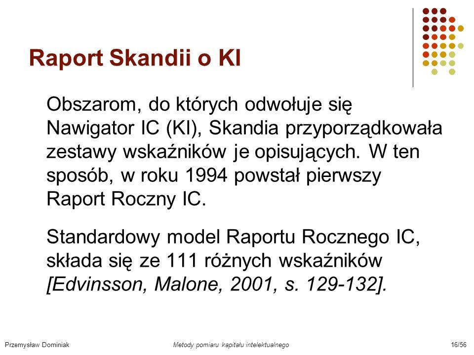 Raport Skandii o KI