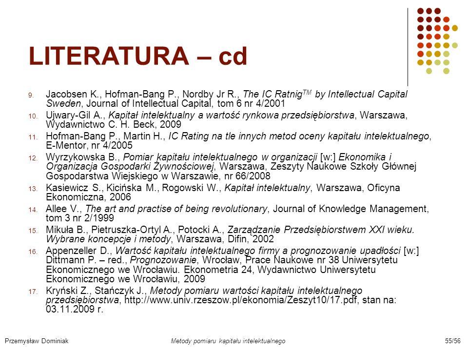 LITERATURA – cd