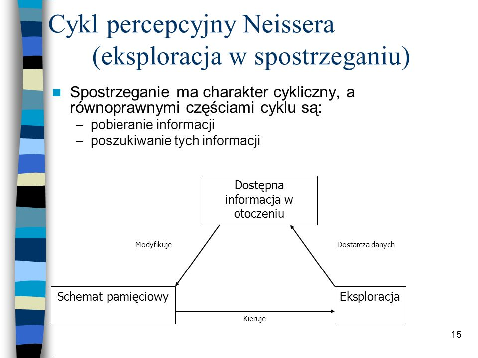 Cykl percepcyjny Neissera (eksploracja w spostrzeganiu)