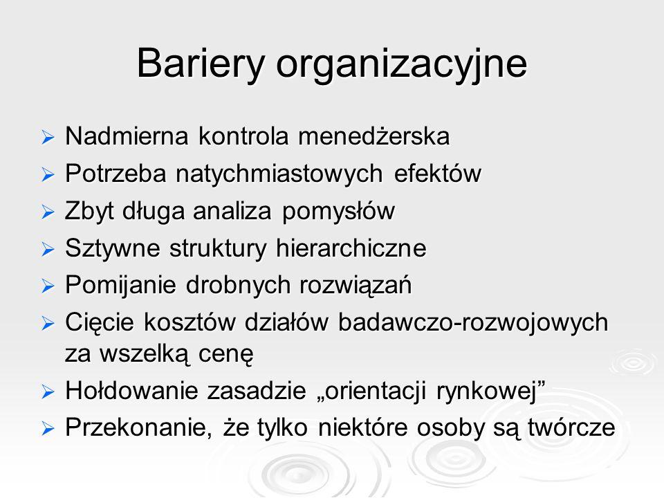 Bariery organizacyjne