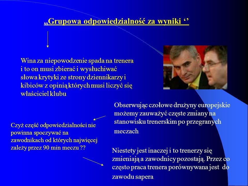 ,,Grupowa odpowiedzialność za wyniki ''