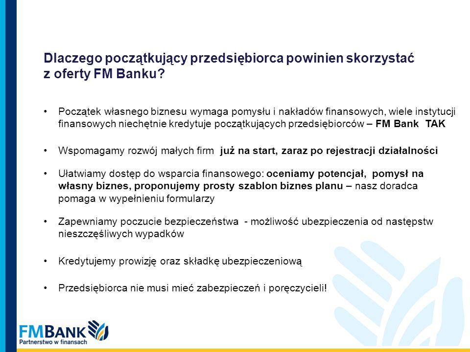 Dlaczego początkujący przedsiębiorca powinien skorzystać z oferty FM Banku