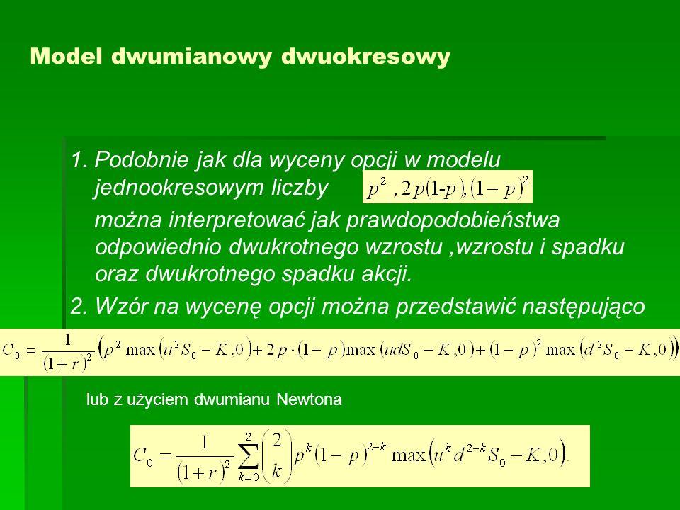 Model dwumianowy dwuokresowy