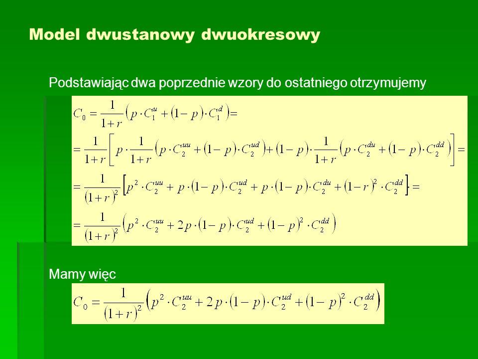 Model dwustanowy dwuokresowy