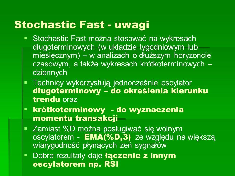 Stochastic Fast - uwagi