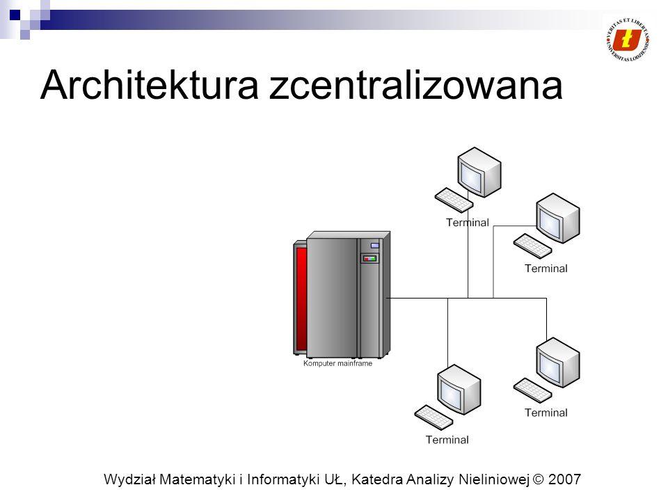 Architektura zcentralizowana