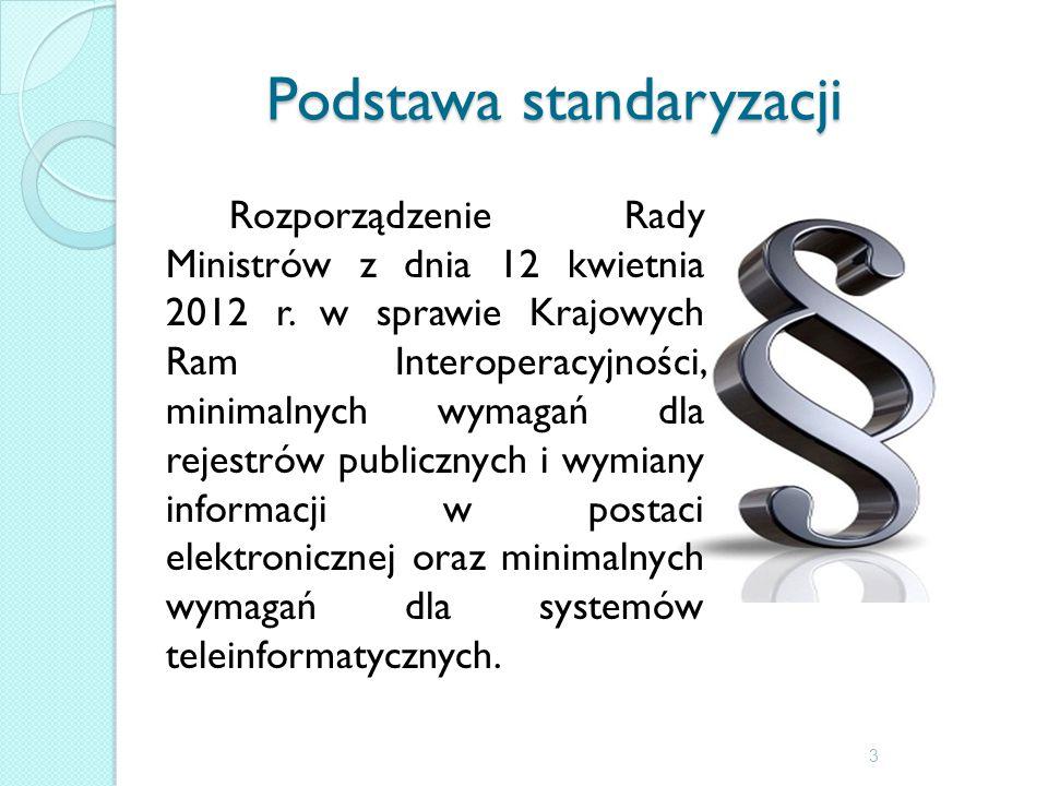 Podstawa standaryzacji