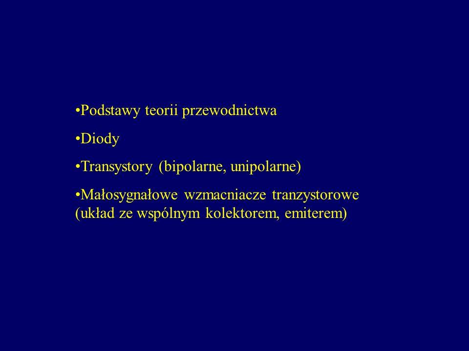 Podstawy teorii przewodnictwa