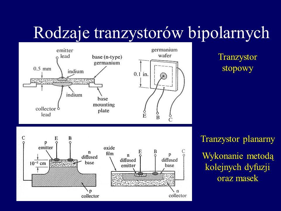 Rodzaje tranzystorów bipolarnych