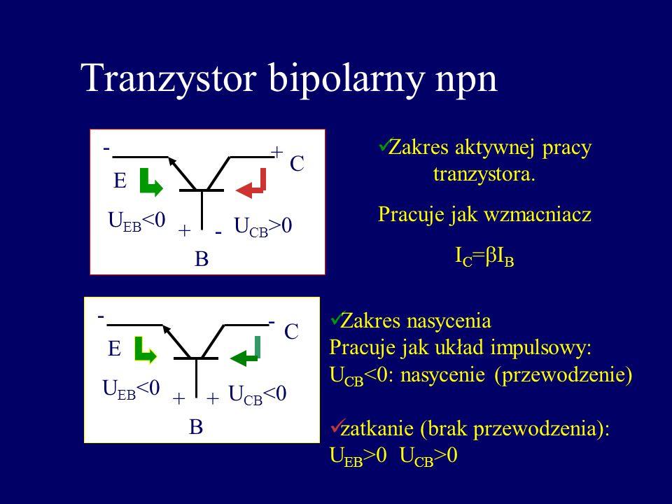 Tranzystor bipolarny npn
