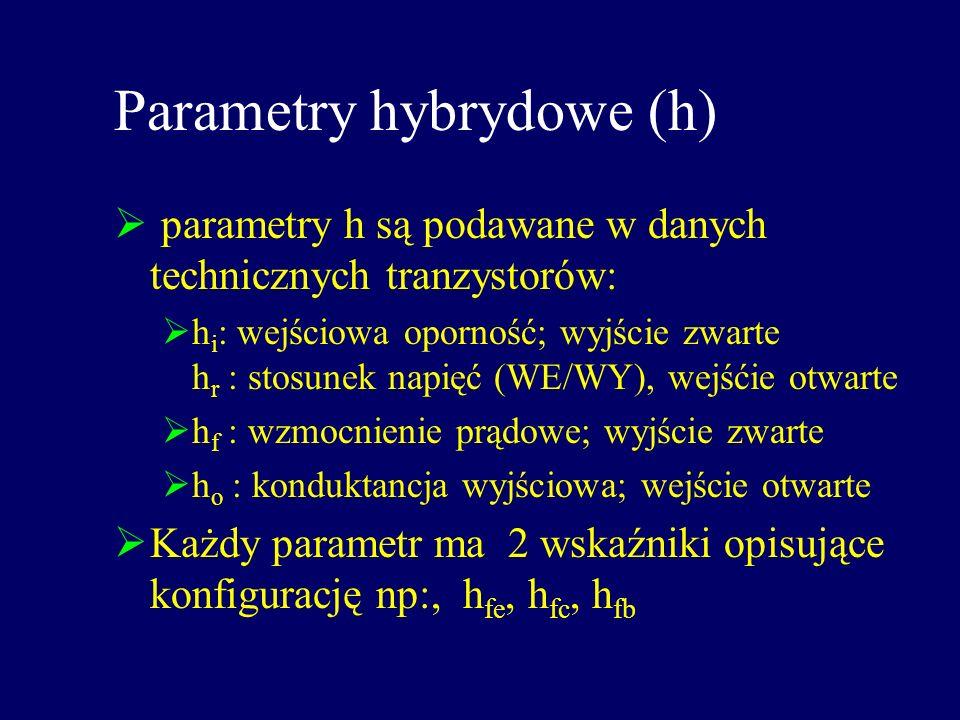 Parametry hybrydowe (h)
