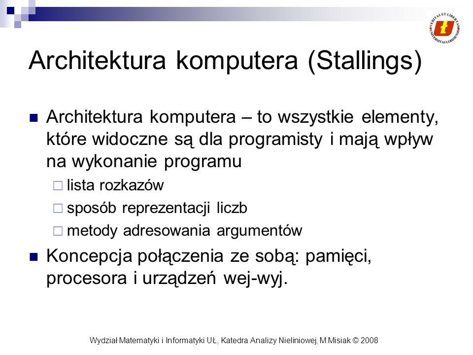 Architektura komputera (Stallings)