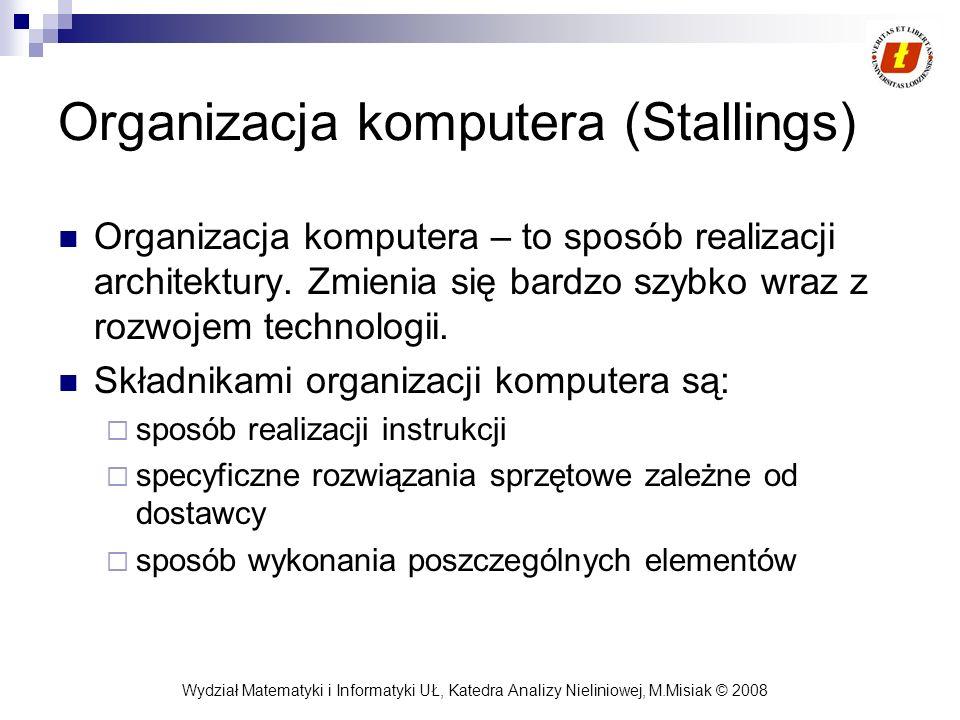 Organizacja komputera (Stallings)