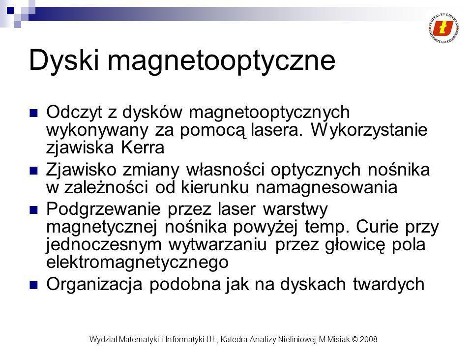 Dyski magnetooptyczne