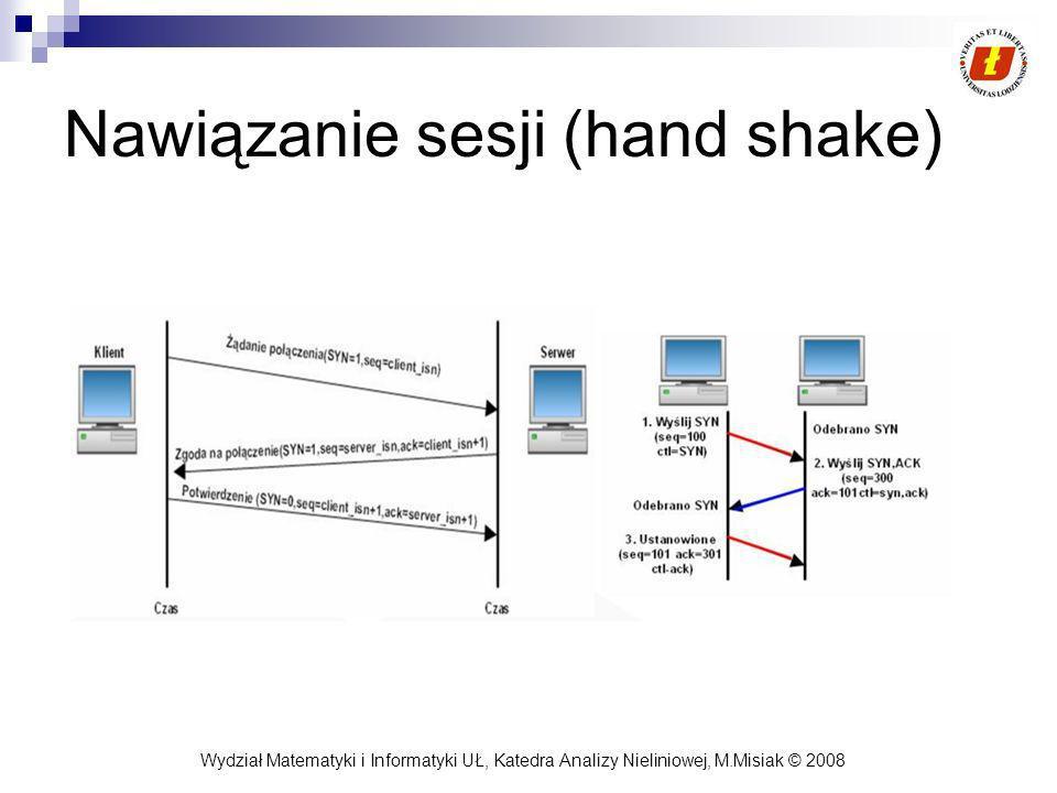 Nawiązanie sesji (hand shake)