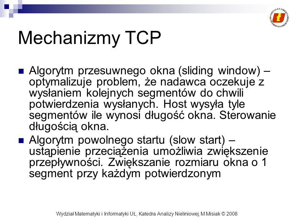 Mechanizmy TCP
