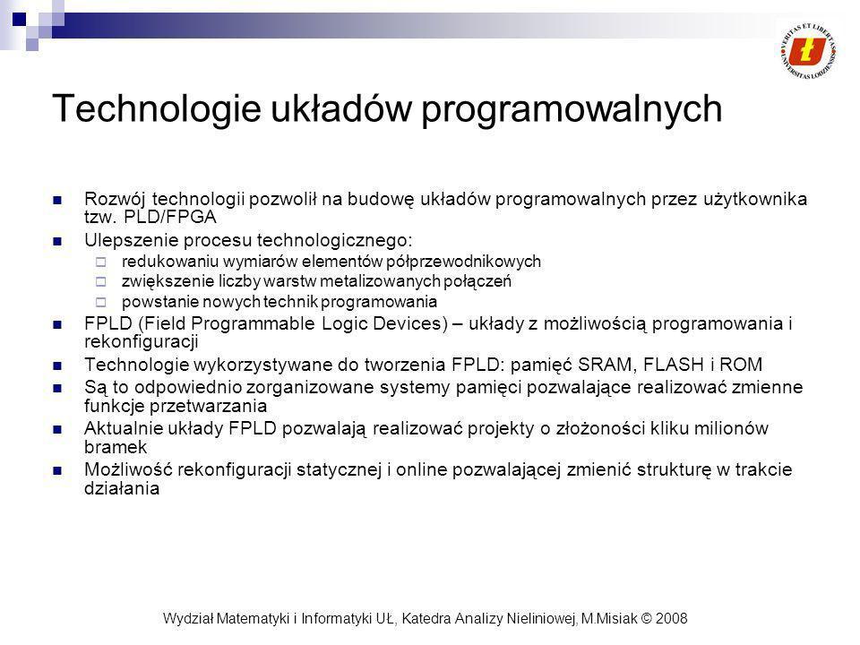 Technologie układów programowalnych