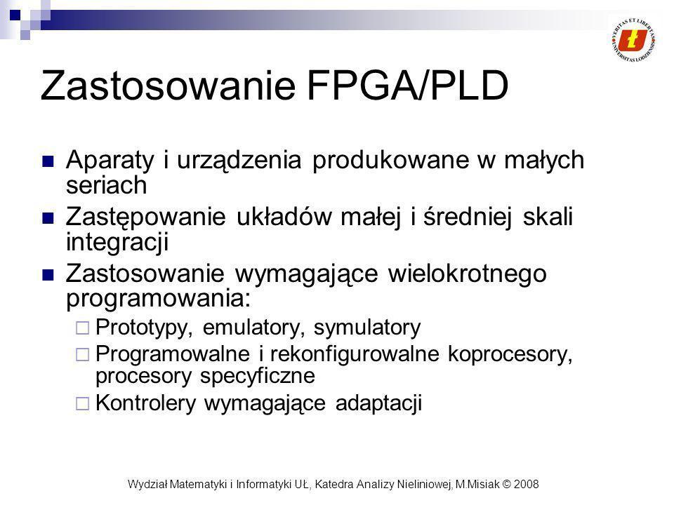 Zastosowanie FPGA/PLD