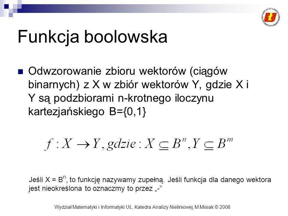 Funkcja boolowska