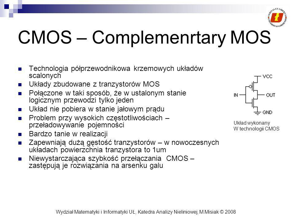 CMOS – Complemenrtary MOS