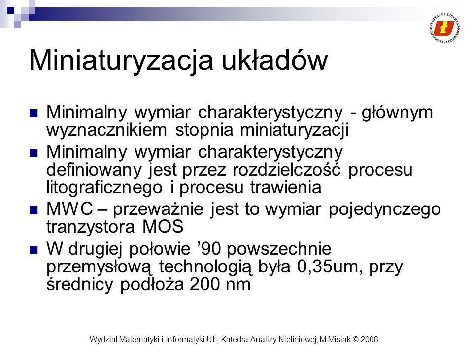 Miniaturyzacja układów