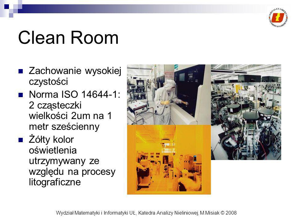 Clean Room Zachowanie wysokiej czystości