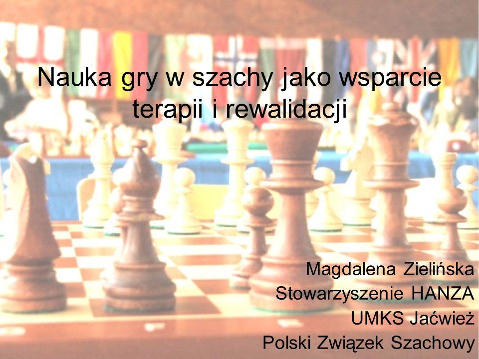 Nauka gry w szachy jako wsparcie terapii i rewalidacji
