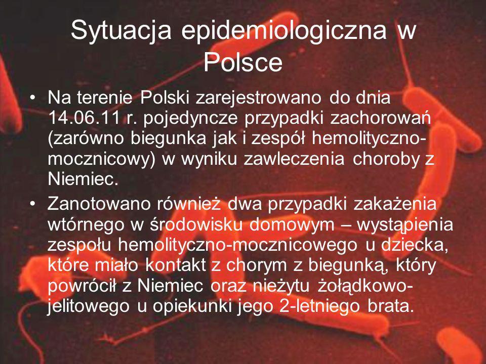 Sytuacja epidemiologiczna w Polsce