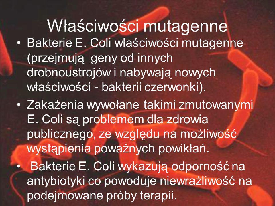 Właściwości mutagenne