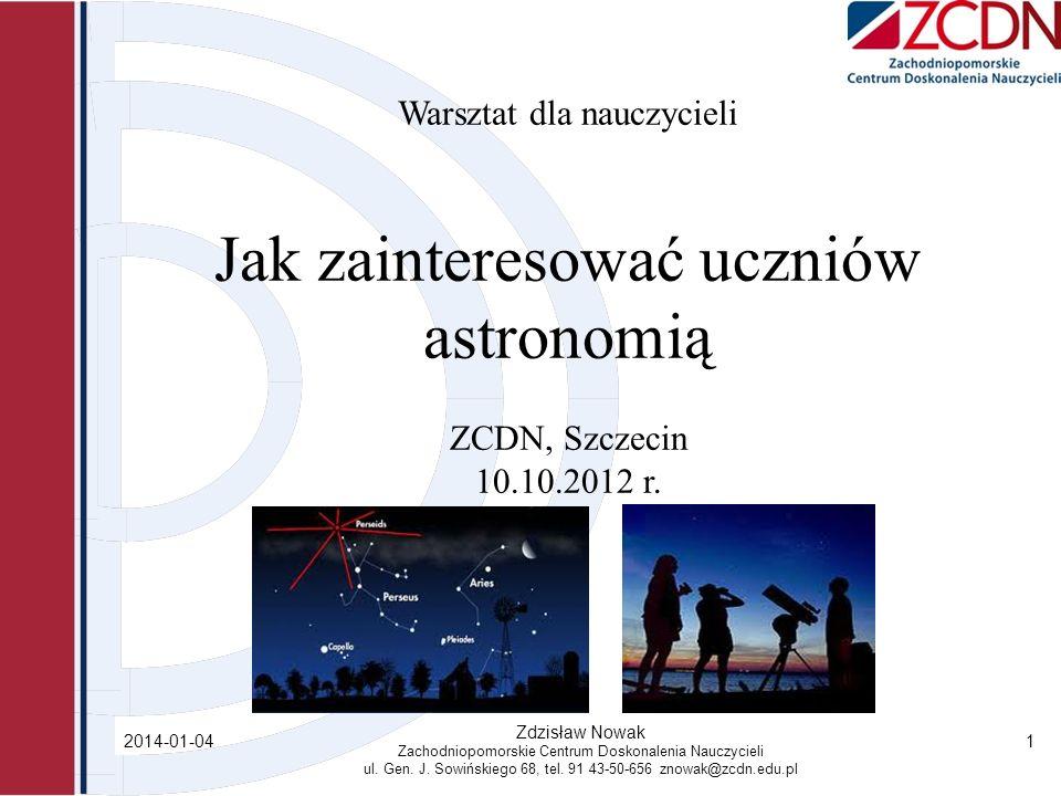 Jak zainteresować uczniów astronomią