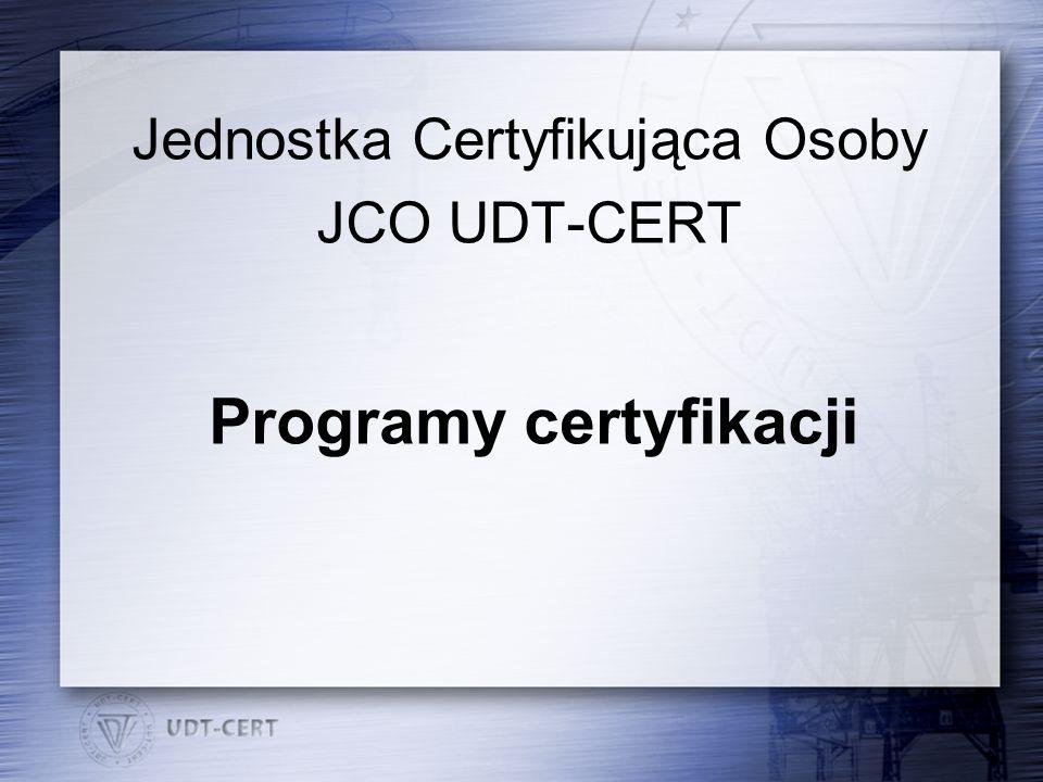 Programy certyfikacji