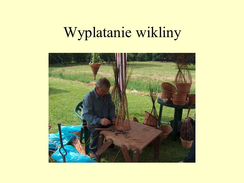 Wyplatanie wikliny