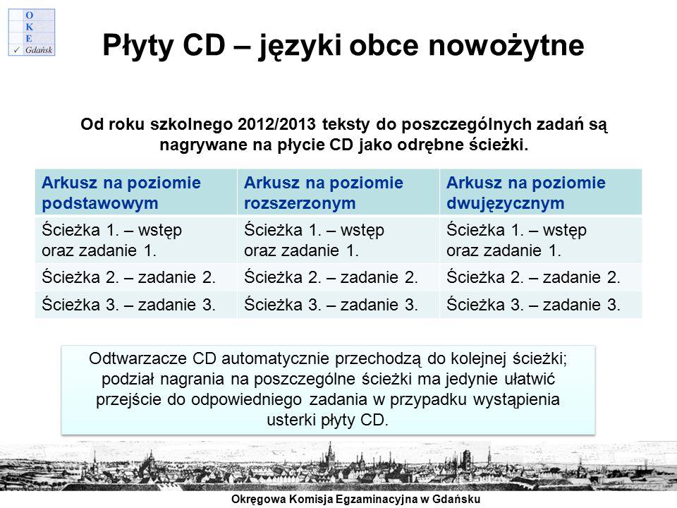 Płyty CD – języki obce nowożytne