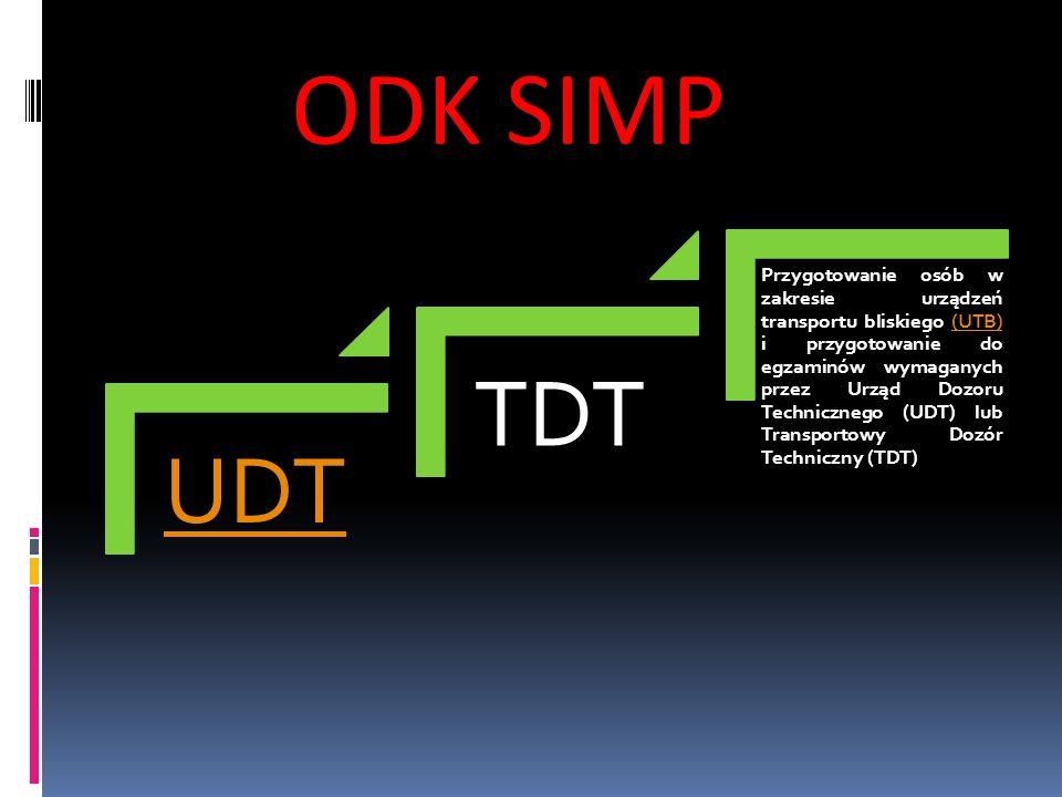 ODK SIMP UDT. TDT.